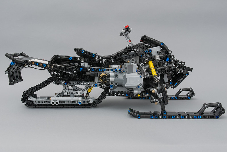 lego technic ski doo instructions