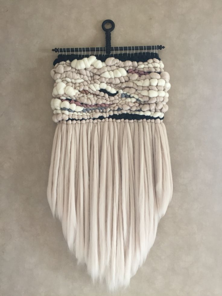 how to make wool wall hanging with instructions