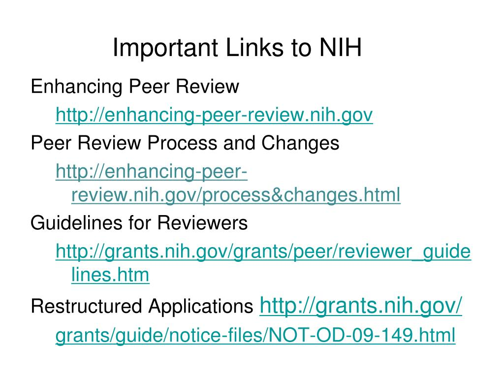 nih forms e instructions