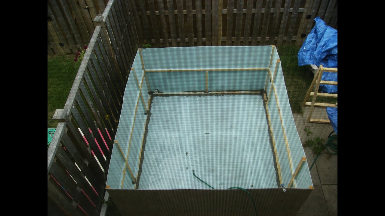 instructions on how to build a swimming pool