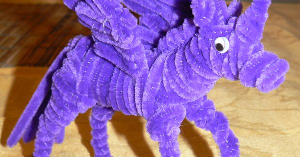 pipe cleaner unicorn instructions