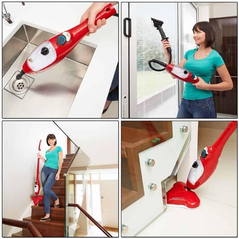 h2o mop ultra steam cleaner instructions