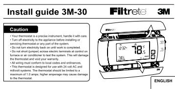ritetemp thermostat instructions 8030